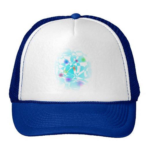Custom Background Summer Snow Mesh Hat