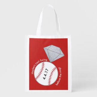 Custom Bag for Bachelorette Party- Baseball