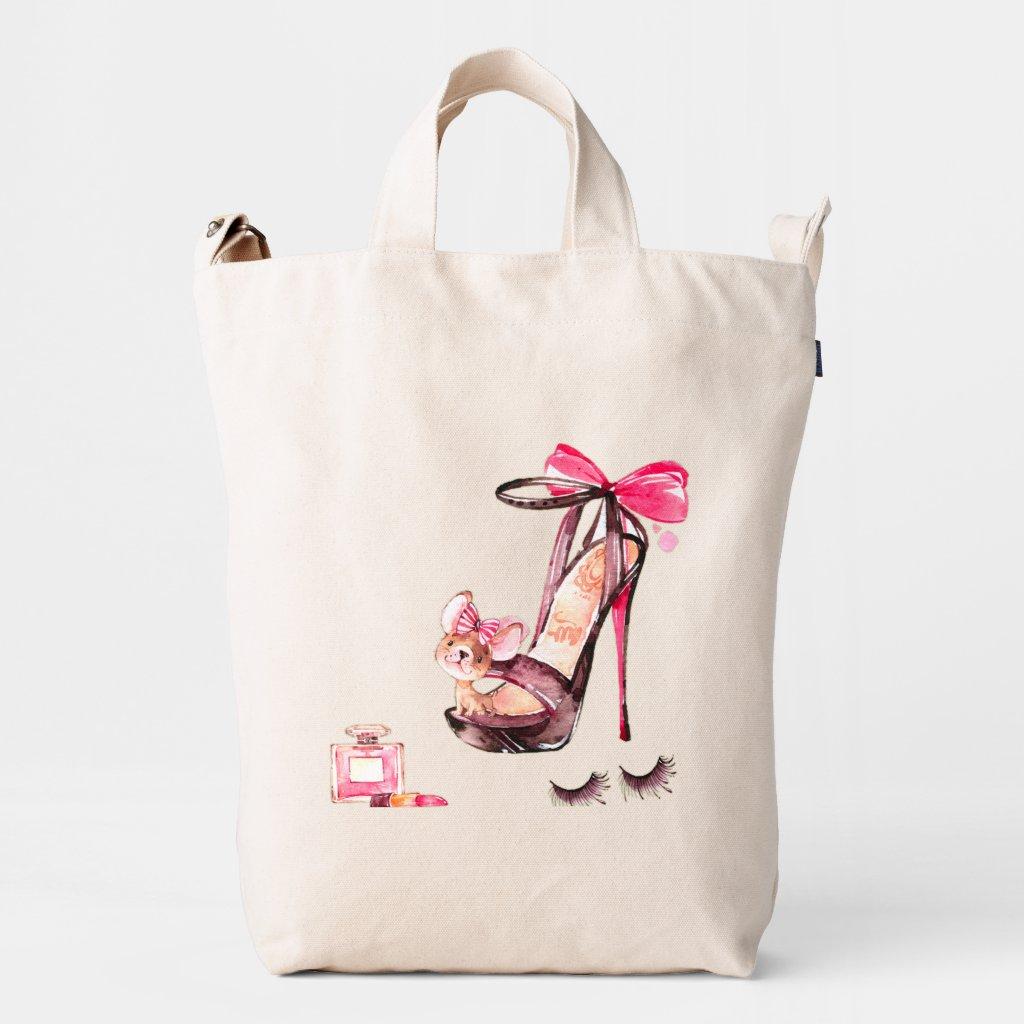 Custom BAGGU Duck Bag, Canvas