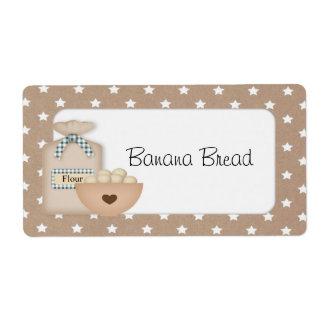 Custom Baked Goods Label