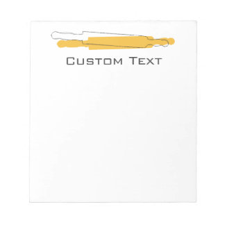 Custom Baker Bakery  Shopping List Notepad