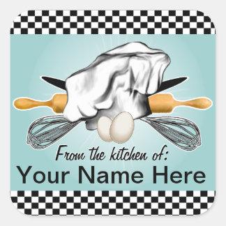 Custom Baker Packaging label Sticker