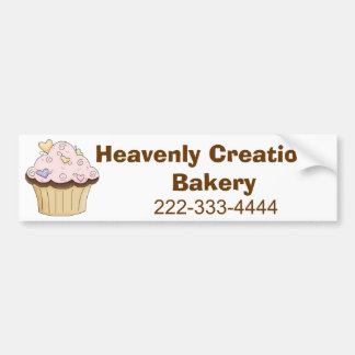 Custom Bakery Bumpsticker Bumper Sticker