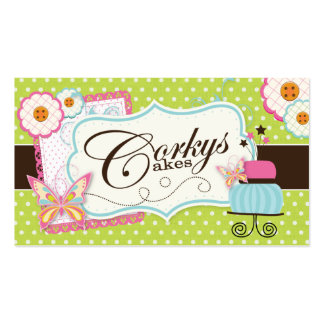 Custom Bakery Business Card