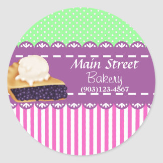 Custom Bakery Business Stickers