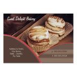 Custom Bakery / Catering Business Card