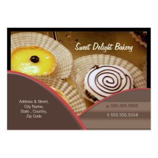 Custom Bakery Catering Business Card