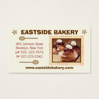 Custom Bakery, Deli or Cafe Business Card