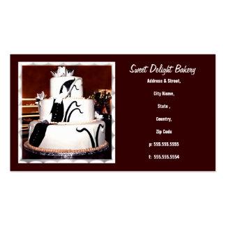 Custom Bakery / Wedding Cakes  Business Card