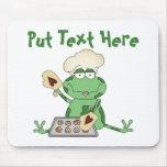 Custom Baking Frog Mousepad