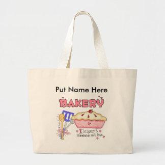 Custom Baking Kitchen Gifts Large Tote Bag