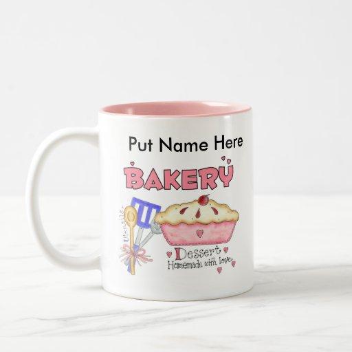 Custom Baking Kitchen Gifts Two-Tone Coffee Mug