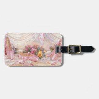 Custom Ballerina Slippers Luggage Tag