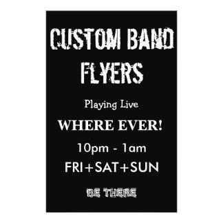 Custom Band Flyers