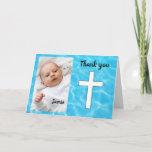Custom Baptism thank you