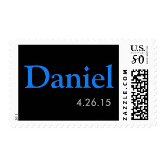 Custom Bar Mitzvah postage stamp