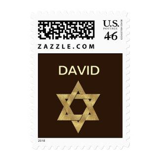 Custom Bar Mitzvah Postage Stamp