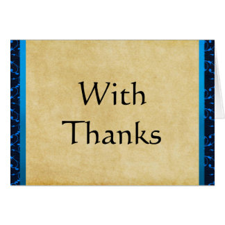 Custom Bar Mitzvah Thank You Cards