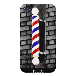 Custom Barber / Men's Hair Stylist iPhone 4 Case