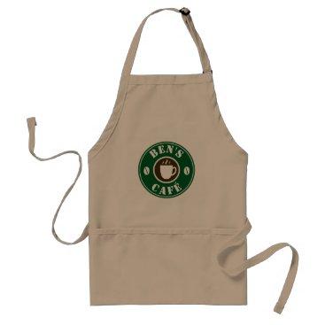 Professional Business Custom barista apron for coffee shop café or bar