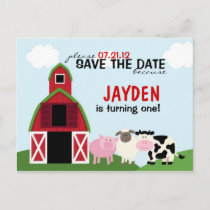 Custom Barnyard Save The Date or Invitations