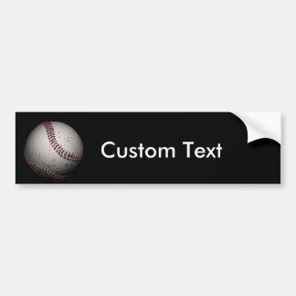 custom_baseball bumper sticker
