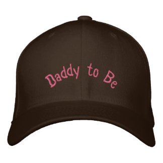 Custom Baseball Cap Daddy to Be
