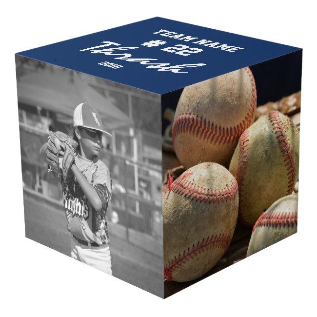Custom Baseball Cube