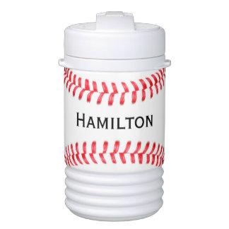 Custom Baseball Igloo Thurmos Cooler