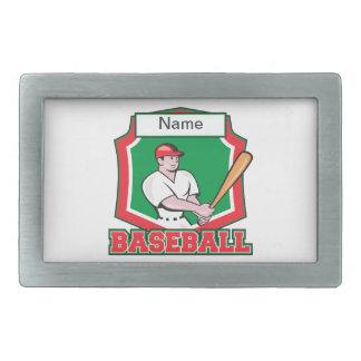Custom Baseball Player Belt Buckle