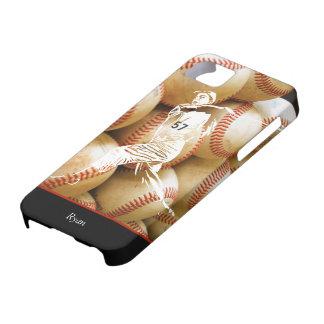 Custom Baseball Player iPhone Case iPhone 5 Case