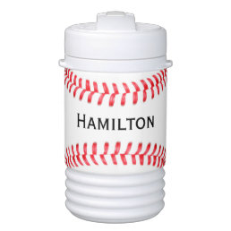Custom Baseball Player or Team Name Igloo Cooler