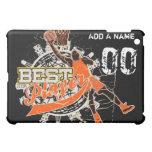 Custom Basketball Black  Cover For The iPad Mini