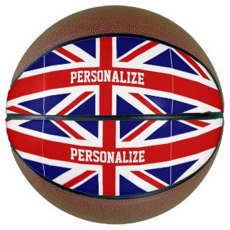 Custom basketball British Union Jack flag