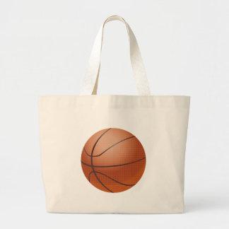 Custom Basketball Design Canvas Bags