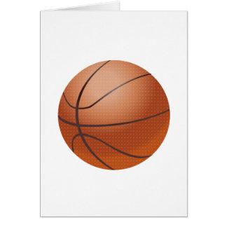 Custom Basketball Design Card