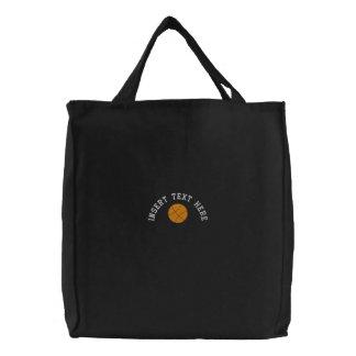 Custom Basketball Embroidered Bag