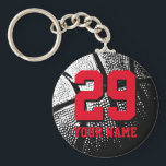 Custom basketball jersey number keychains for fans br  div class