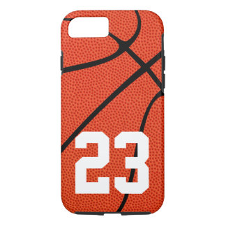 Custom Basketball Jersey Number or Text Phone Case