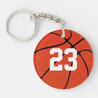Custom Basketball Key Chain