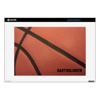 Custom Basketball Laptop Skin