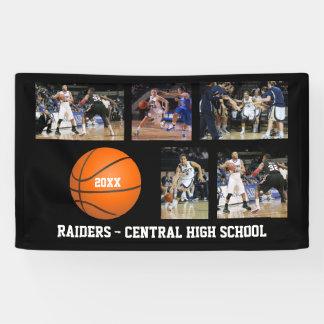 Custom Basketball Photos Player Team Name Year Banner