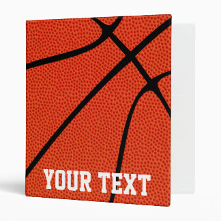 Custom Basketball Playbook Three Ring Binder