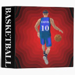 Custom Basketball Player Binder