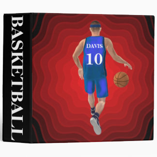 Custom Basketball Player Binder