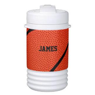 Custom Basketball Player Name or Text Igloo Cooler