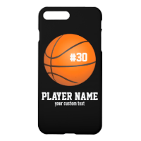 Custom Basketball Player & Team Name Jersey # Year iPhone 7 Plus Case