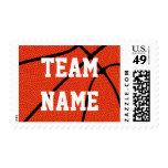 Custom Basketball Stamps