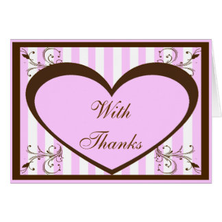 Custom Bat Mitzvah Thank You Cards