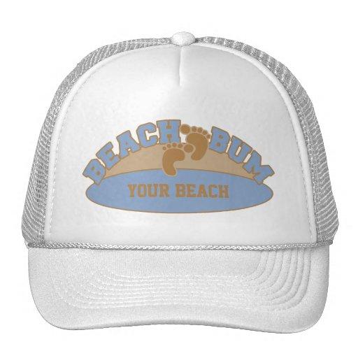 Custom Beach Bum hats - choose color